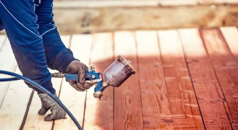 How to use an HVLP sprayer gun for woodworking - spraying