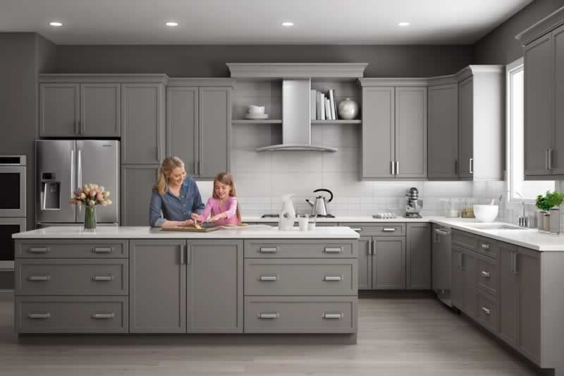 The Exciting Trend of Gray Kitchen Cabinets