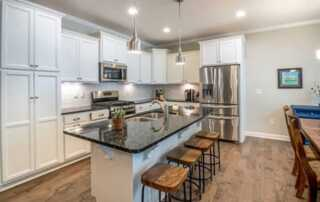 Top 5 Charming Wooden Kitchen Ideas - kitchen stools