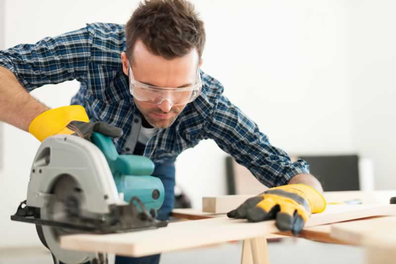 Using Power Equipment Can Be Very Tricky Sometimes - circular saw