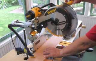 12 Table Saw Woodworking Safety Tips - miter saw