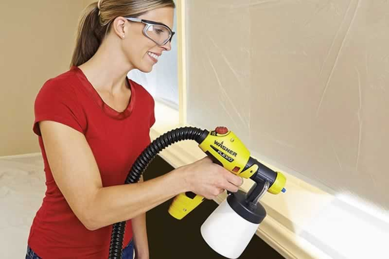 5 Different types of paint sprayers - painting