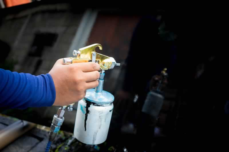 5 Different types of paint sprayers