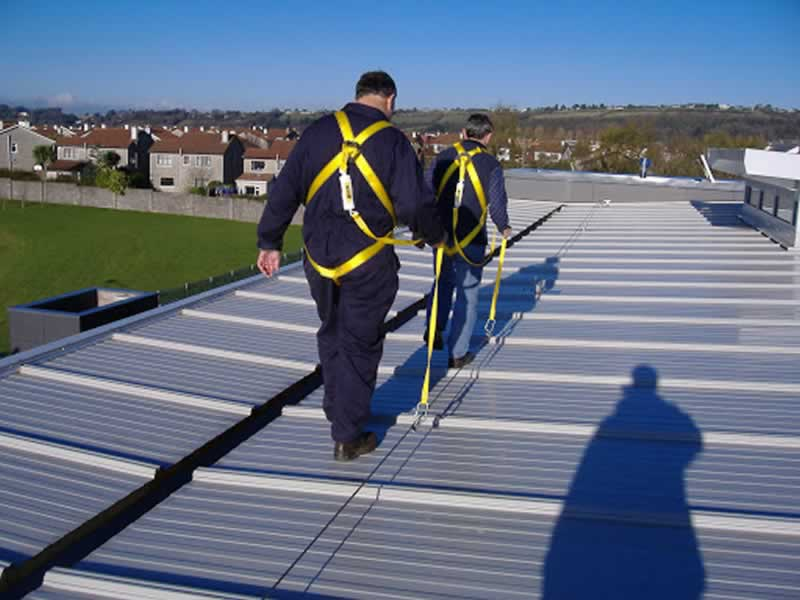 7 Safety Tips to Remember When Working at Heights - on the roof