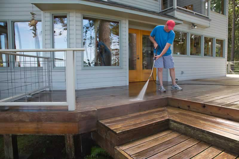 Can These Maintenance Issues Cause You To Lose Out On Insurance - washing deck