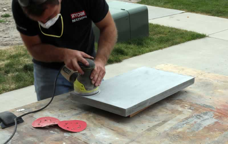 Can You Sand Concrete with Regular Sandpaper - sanding concrete