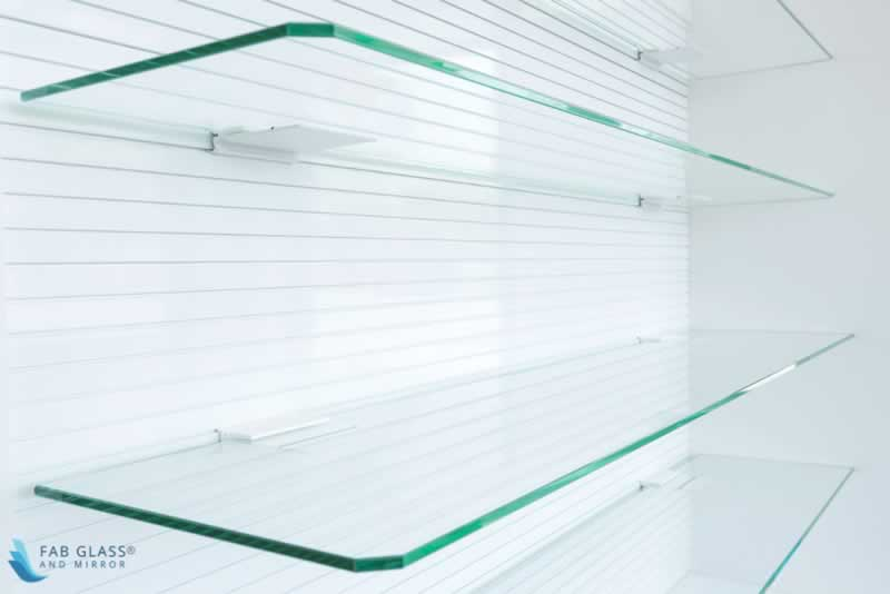DIY Crafts to Install Glass Shelves for Glamorous Home Décor - brightness