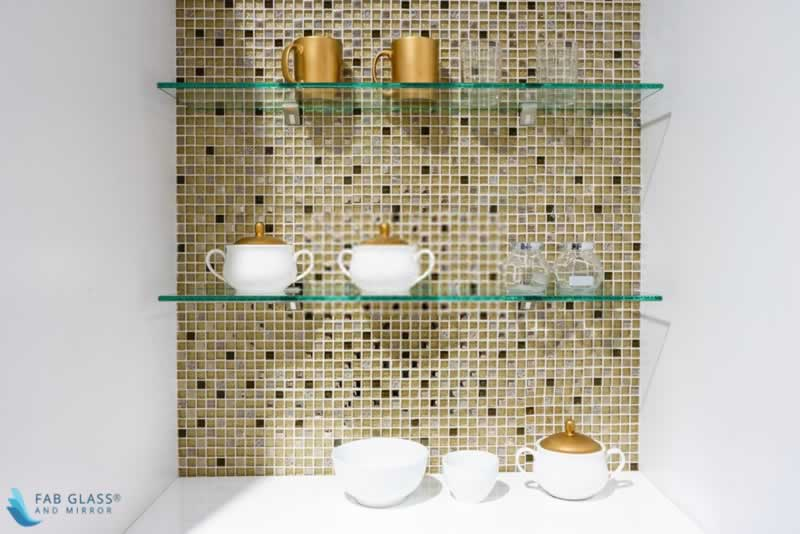 DIY Crafts to Install Glass Shelves for Glamorous Home Décor - durable shelves
