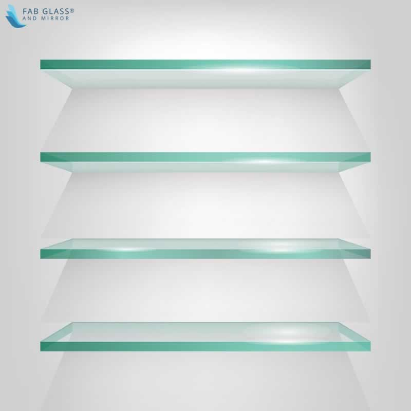 DIY Crafts to Install Glass Shelves for Glamorous Home Décor - floating glass shelves