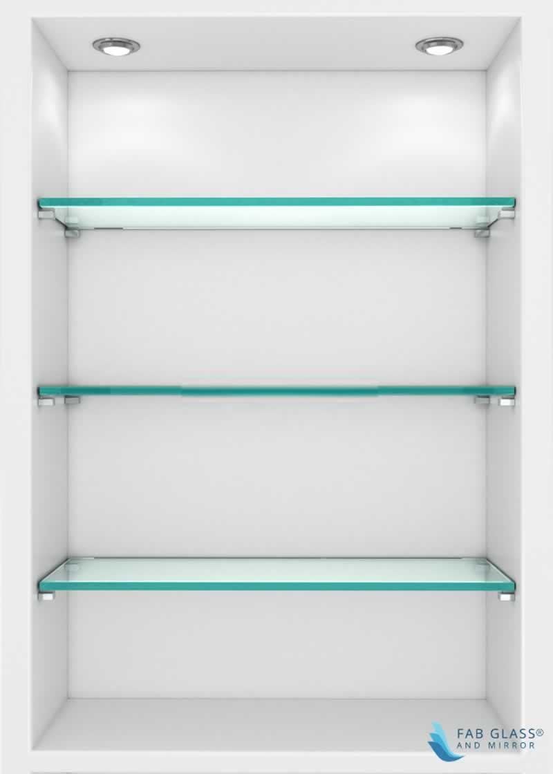 DIY Crafts to Install Glass Shelves for Glamorous Home Décor - pantry glass shelves