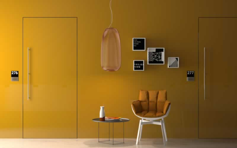 Everything to know about a flush wall door