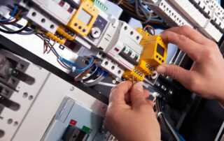 Home Electric Infrastructure Install
