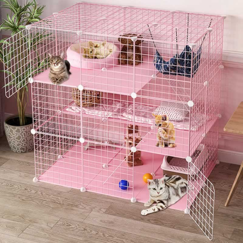 How long can a cat remain in an indoor cage - cage