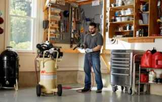 How to Choose Air Compressor For Your Home Garage - garage