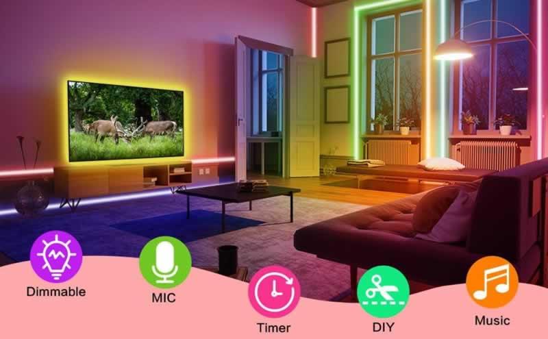 How to design trendy room lighting - commands