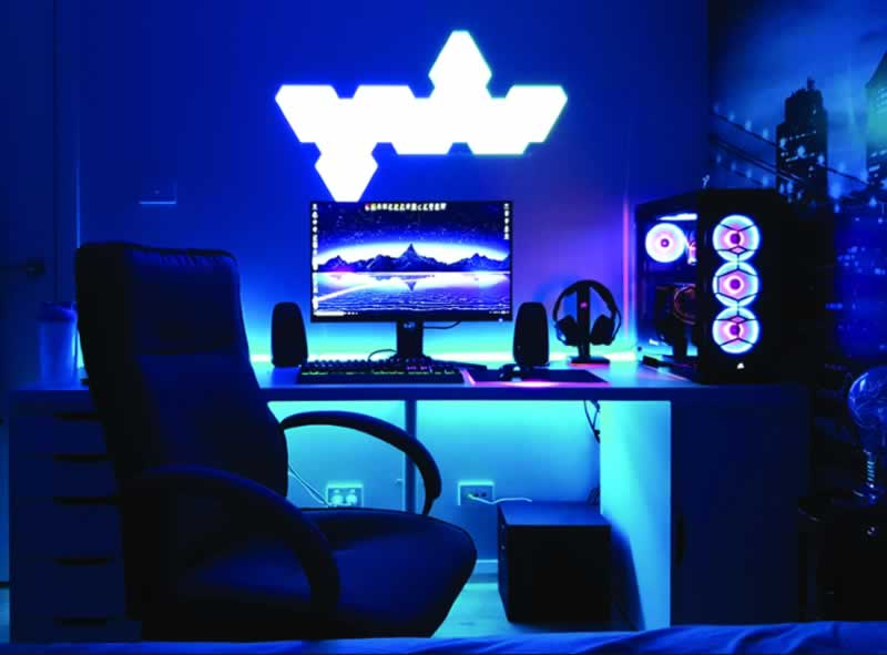 How to pick gaming room lighting - gaming room
