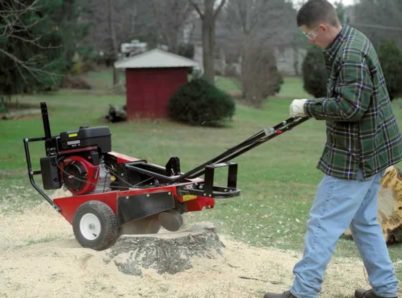 5 Steps To Properly Grind Your Tree Stump With A Stump Grinder