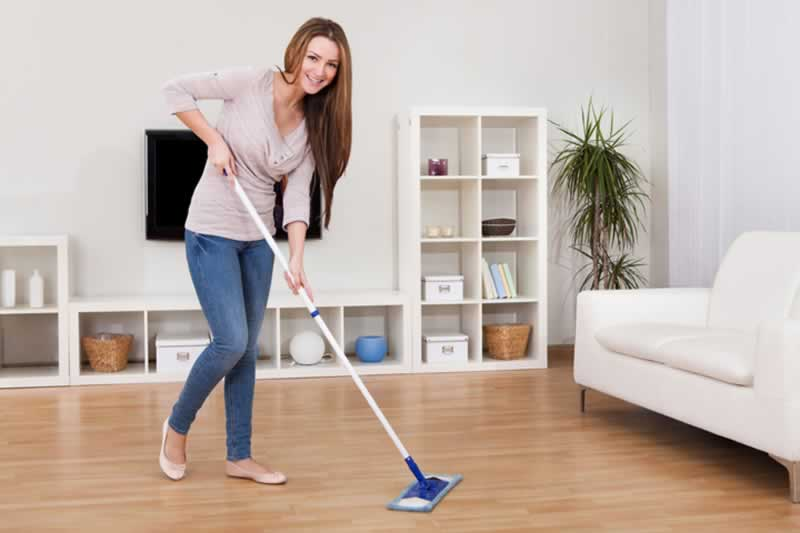 Cleaning Tips for Every Type of Floor - cleaning the floor