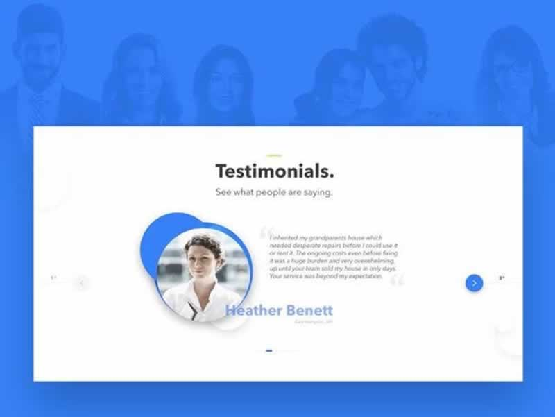 Creating the Best Plumbing Website Designs and Plumbing Template for CRO - testimonials