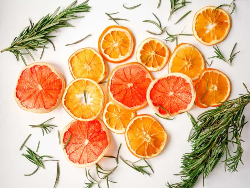 Essential Oils to Wooden Surfaces - orange