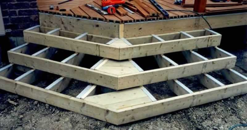 How To Build Your Own Garden Deck - steps