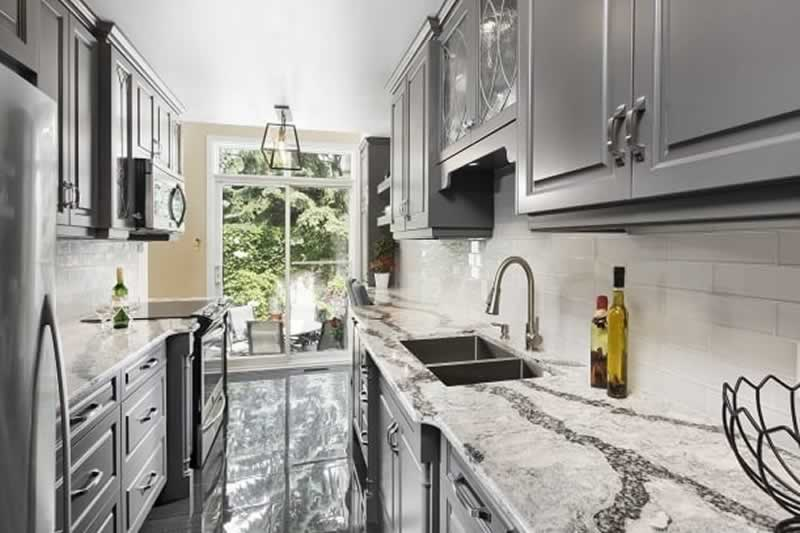 How to Choose the Right Kitchen Layout for Your Home - galley kitchen