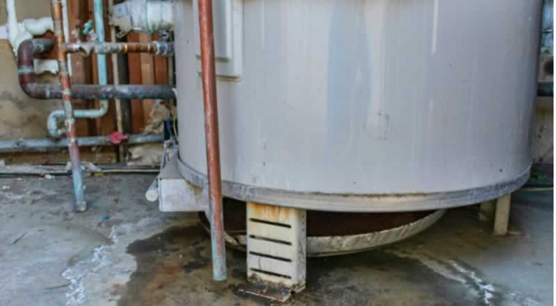 How to Spot Water Heater Damage and Find out The Cause - water heater