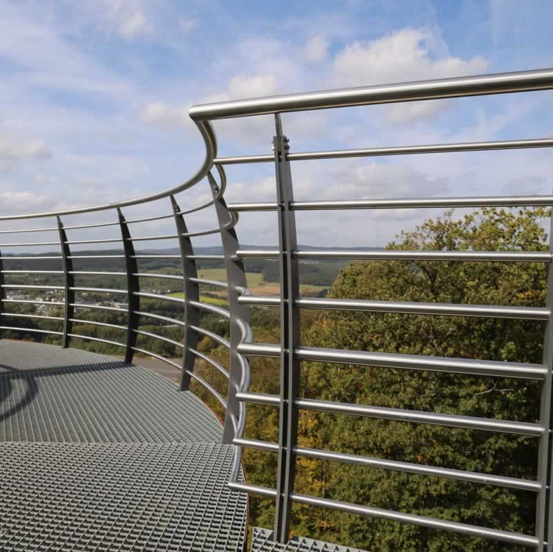 Top Balustrade Design Ideas For Your Balcony - steel balustrade