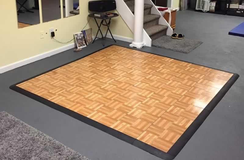 Advantages of Portable Interlocking Floors - dance floor