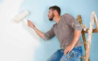 How to Fix Uneven Paint on Walls - painting