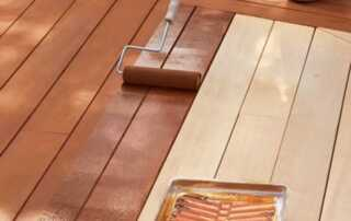 How to Stain an Outdoor Deck Properly - staining