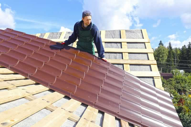 Low cost roofing - metal roof