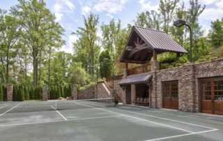 The Basics of Present-Day Tennis Court Construction - concrete tennis court