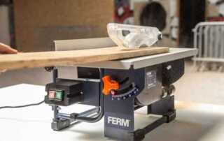 Types of Electric Saws - table saw