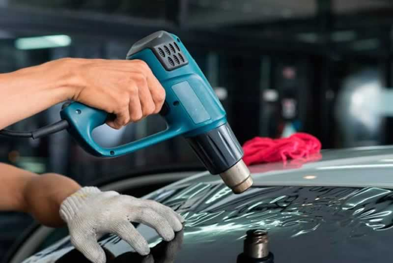 What Are Heat Guns Used For - window tint