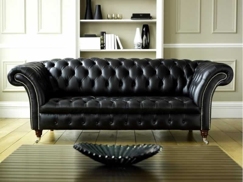 Why You Should Choose Leather Furniture Over Fabric Upholstery - leather sofa