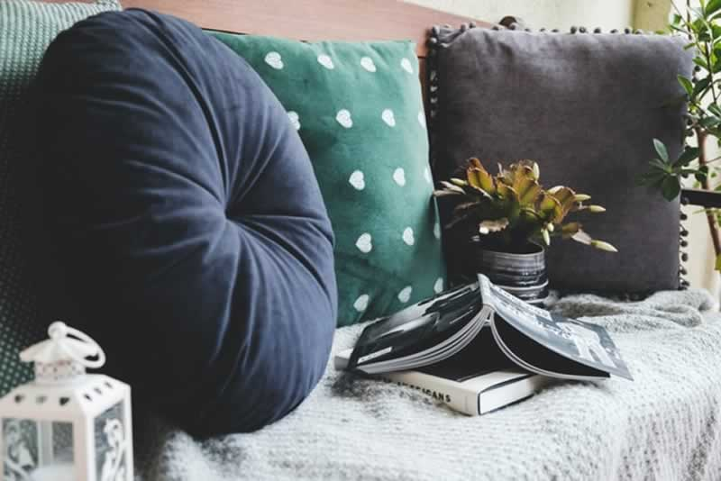 Why you need to renovate before moving in - pillows