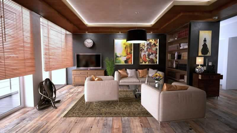 Buying A New Home - living room
