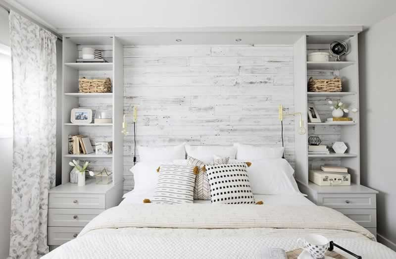 How to Arrange a Small Bedroom with Big Furniture - small bedroom
