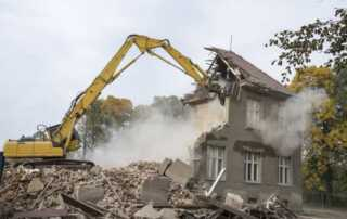 Signs A Residential Property Should Be Demolished - demolition