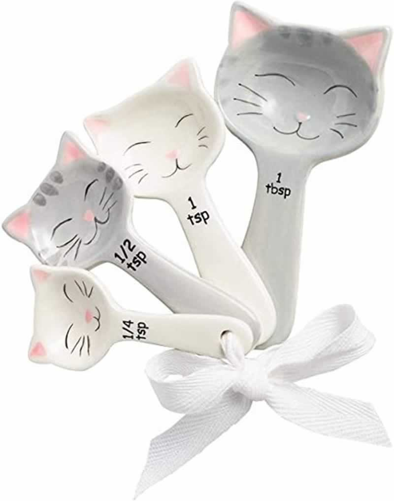 The Best Gifts for Cat Lovers That Are Perfect in Every Way - cat measuring spoons
