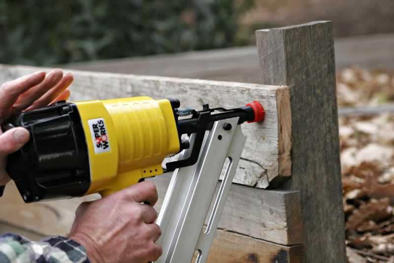 Top Tips For Using Pneumatic Tools - nail gun