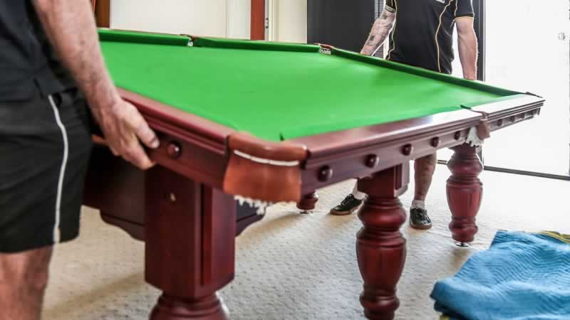Why You Must Work with Experts for Pool Table Disposal - disassembling